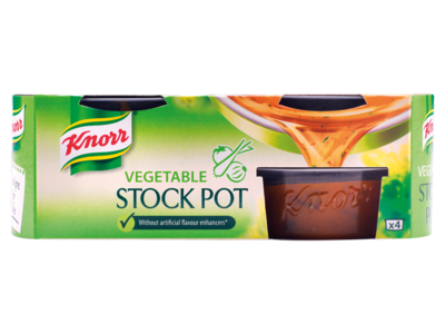 Knorr Vegetable Stock Pot 4 x 28g  2
