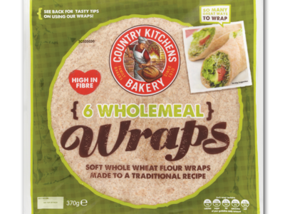 CountryKitchen wholemealWraps 6pk