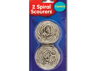 CT spiralScourers 2pk