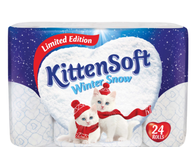 Kittebsoft winterSnow 24roll