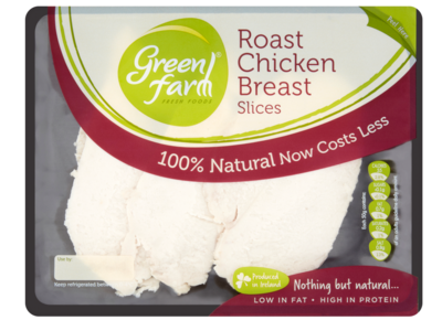 Green Farm Fresh Foods Roast Chicken Breast Slices