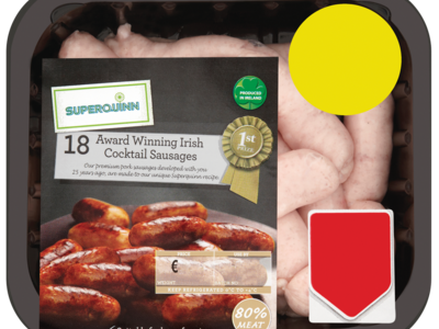 Superquinn 18 Award Winning Irish Cocktail Sausage