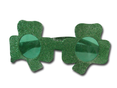 PatricksDay shamrockGlasses