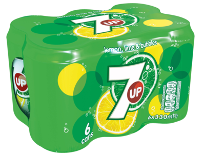 7UP Can Pack 6X330ml