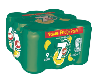 7up canPack 9pk
