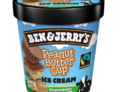 Ben Jerrys Peanut Butter Cup Ice Cream 500ml 21