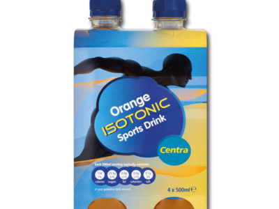 CT isotonicDrink4pk orange