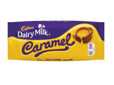 Cadbury Dairy Milk Caramel Chocolate Bar 120g