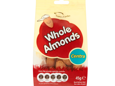 Centra Whole Almonds 45g