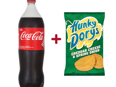 Coca cola  hunky dory deal