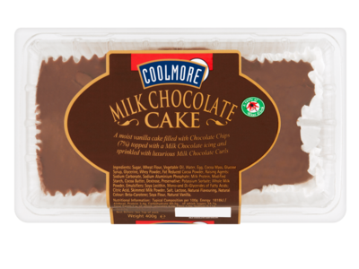 Coolmore Milk Chocolate Cake 400g