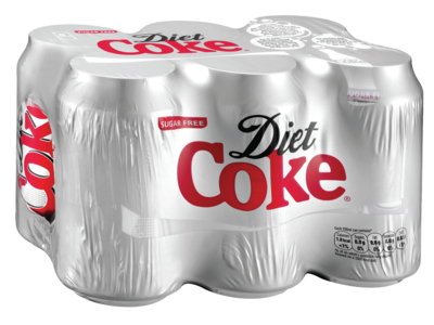 Diet Coke 6 x 330ml Can Multipack