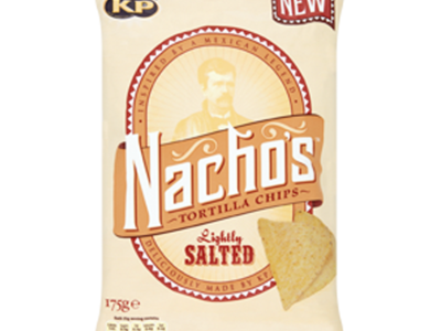 KP Nachos Tortilla Chips LightlySalted 175g