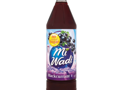 Mi Wadi Blackcurrant No Added Sugar 1L
