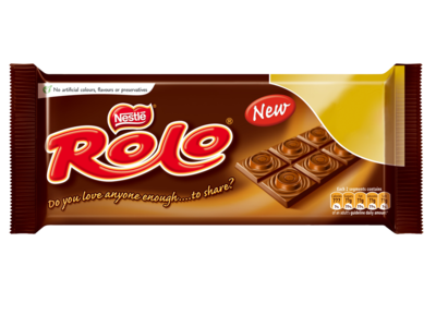 Rolo Chocolate Bar 100g