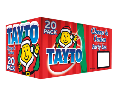 Tayto cheeseOnion 20pk