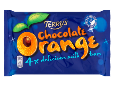 Terry s Chocolate Orange Milk Bar 4 Pack 40g