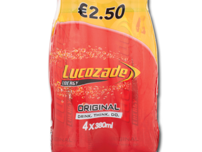 Lucozade 4x380ml