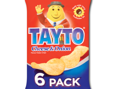 Tayto cheeseOnion 6pk