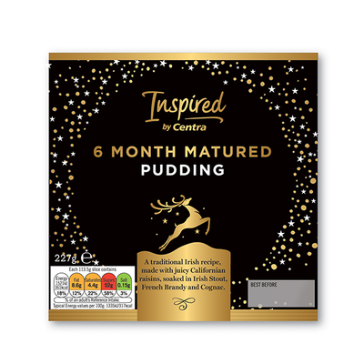 INSPIRED BY CENTRA 6 MONTH MATURED PUDDING 227 G
