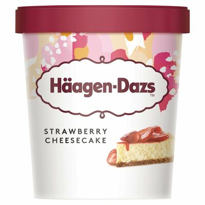 Haagen Dazs Strawberry Cheesecake 460ml