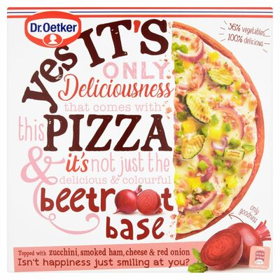Dr Oetker Yes Its Pizza Beetroot Base 335g