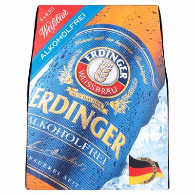 Erdinger Non-Alcoholic 6 Pack 330ml