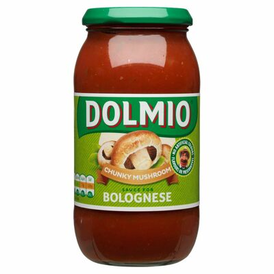 Dolmio Bolognese With Mushrooms Pasta Sauce 500g
