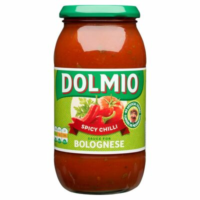 Dolmio Bolognese Spicy Chilli Pasta Sauce 500g