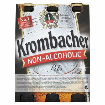 Krombacher Non Alcoholic Pils Can Pack 6 x 330ml