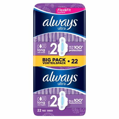 Always Ultra Duo Pack Long Plus 11pce