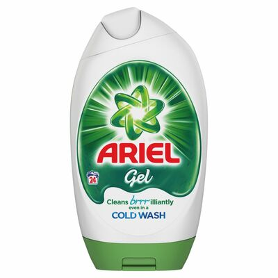 Ariel Biological Excel Gel 24 Wash 888ml