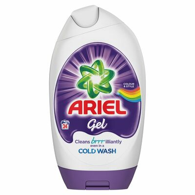 Ariel Colour Excel Gel 24 Wash 888ml