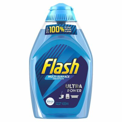 Flash Liquid Gel Cotton Fresh 400ml