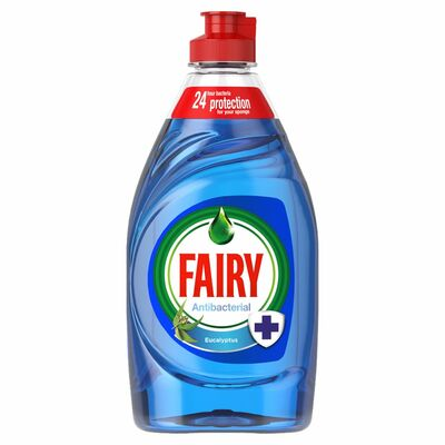 Fairy Liquid Antibacterial Eucalyptus 383ml