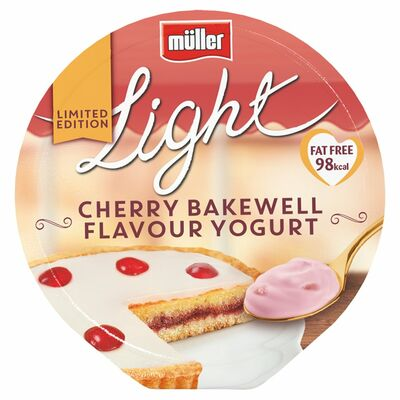 Mullerlight Ltd Ed Cherry Bakewell 165g