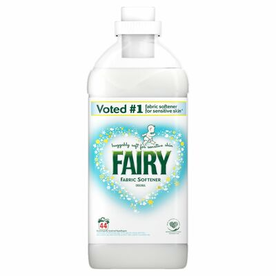 Fairy Fabric Conditioner Original 44 Wash 1.1ltr