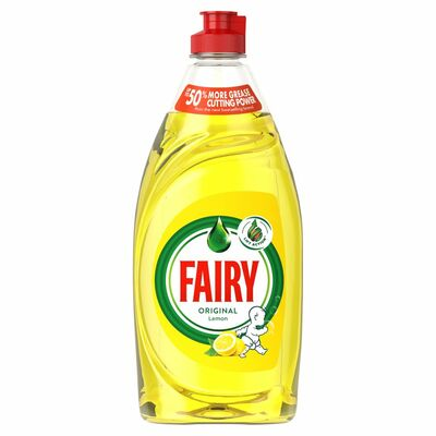 Fairy Lemon Washing Up Liquid 500ml