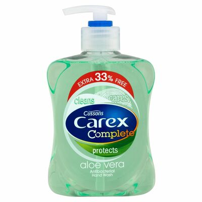 Carex Hand Wash Aloe Vera +33% 333ml