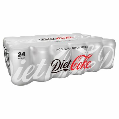 Diet Coke Can Pack 24 x 300ml