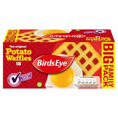 Birds Eye Potato Waffles 18 Pack 1.02kg