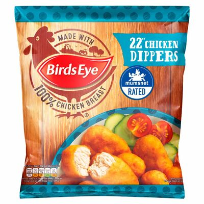 Birds Eye Crispy Chicken Dippers 22 Pack 402g
