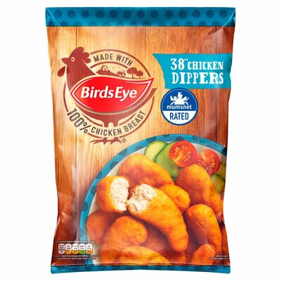 Birds Eye Crispy Chicken Dippers 38 Pack 697g
