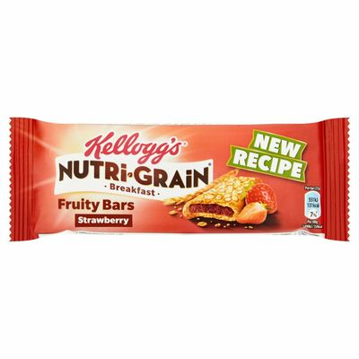 Kellogg's Nutri Grain Bar Strawberry Single 37g