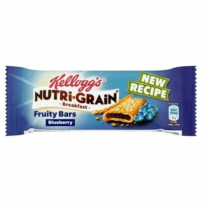 Kellogg's Nutri Grain Blueberry Bar 37g