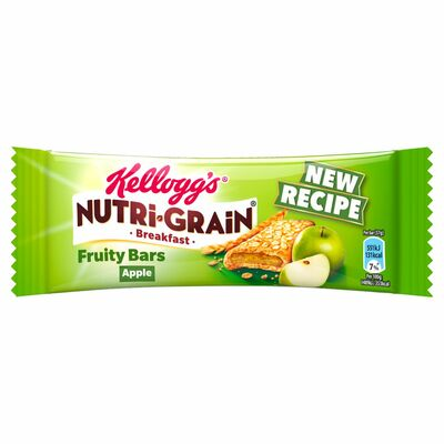 Kellogg's Nutri Grain Bar Apple Single 37g