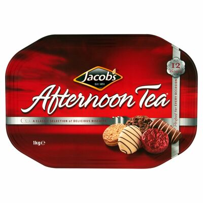 JACOB'S AFTERNOON TEA TIN 1KG