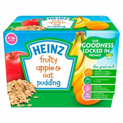 Heinz Apple & Oats Fruity Pudding 400g