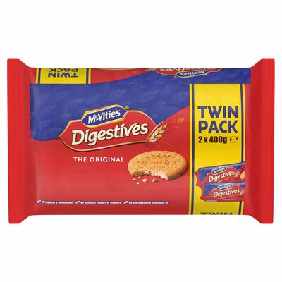 McVitie's Digestives Twin Pack 400g