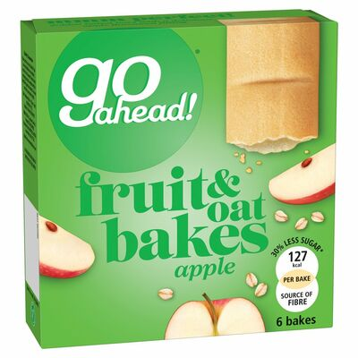 McVitie's Go Ahead Apple Bakes 6 Pack 210g